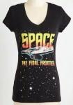 Women's Star Trek The Final Frontier T-Shirt