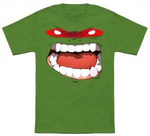 TMNT Raphael Face T-Shirt
