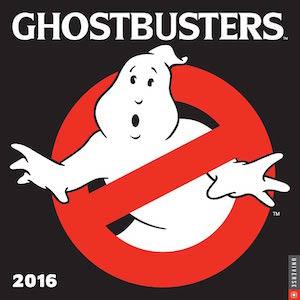 Ghostbusters Wall Calendar 2016