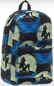 Ariel The Little Mermaid And The Moon Backpack