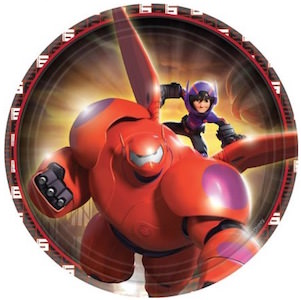 Big Hero 6 Party Plates