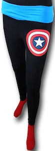 Marvel Captain America Shield Yoga Pants