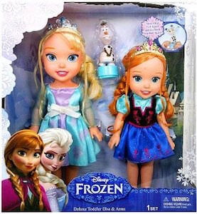 Anna And Elsa As Toddlers Doll Set