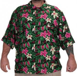 Goonies Chunk Flower Button Up Shirt