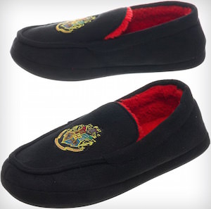 Harry Potter Hogwarts Moccasin Style Slippers