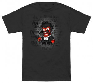 Inside Out Anger Pulp Fiction T-Shirt