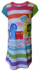 Inside Out Emotions Girls Nightgown