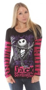 Jack Skellington Halloween Long Sleeve Shirt