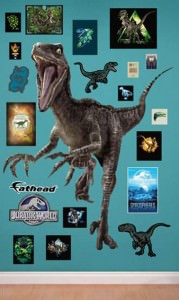 Jurassic World Velociraptor Wall Decal Set