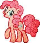My Little Pony Pinkie Pie Clothing Patch