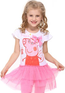 Peppa Pig Little Girls Tutu Dress