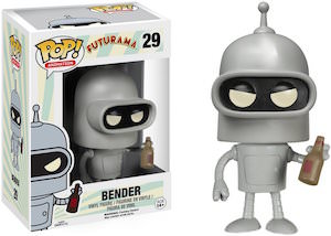Futurama Bender Pop! Animation Figurine