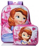 Sofia The First Backpack And Lunch Kit