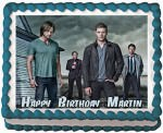 Supernatural Edible Cake Topper Image