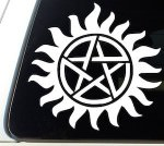Supernatural Anti Possession Logo Window Decal