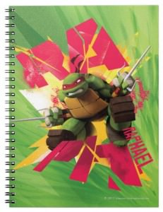TMNT Notebook Featuring Raphael