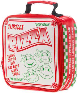 TMNT Pizza Box Style Lunch Box