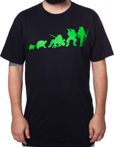 TMNT Turtle Evolution T-Shirt