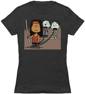 Michonne And Her Walkers T-Shirt