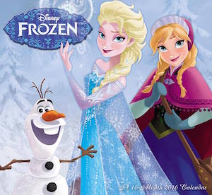 Disney 2016 Frozen Wall Calendar