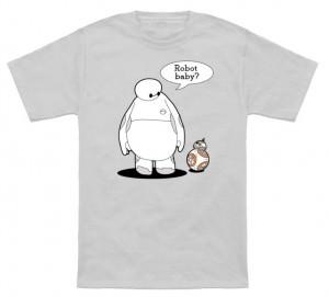 Baymax BB-8 Robot Baby T-Shirt
