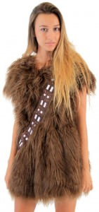 Chewbacca Costume Skater Dress