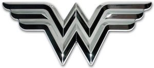 Wonder Woman Logo Car Emblem