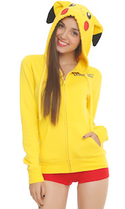 Pokemon Pikachu Women's Costume Hoodie