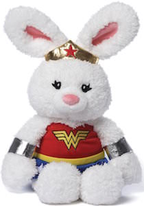 Gund Wonder Woman Plush Rabbit
