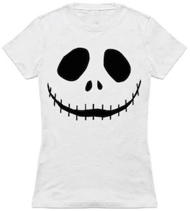 The Face Of Jack Skellington T-Shirt