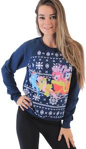 Women's My Little Pony Ugly Christmas Sweater