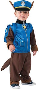 Paw Patrol Toddler Costume Of Chase