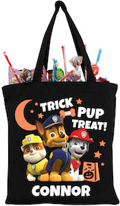 Halloween PAW Patrol Trick Or Treat Bag