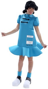 Peanuts Lucy Adult Halloween Costume