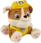 Rubble 8 inch Plush Dog From PAW Patrol