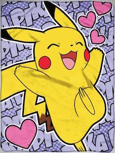 Pikachu Fleece Blanket