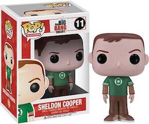 Sheldon Cooper Pop! Vinyl Figurine
