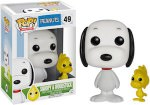 Peanuts Snoopy And Woodstock Pop Figurine