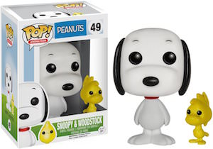 Snoopy And Woodstock Pop Figurine