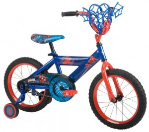 Spider-Man Huffy Kids 16 Inch Bike