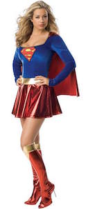 Supergirl Sexy Women's Costume