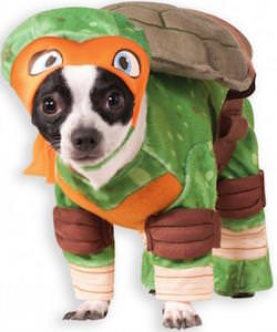 TMNT Michelangelo Dog Costume