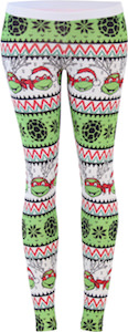 Teenage Mutant Ninja Turtles Christmas leggings