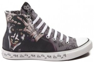 The Joker HA HA Converse Sneakers