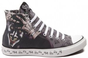 The Joker HA HA Converse Sneakers