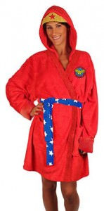 Wonder Woman Hooded Bath Robe