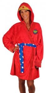 Wonder Woman Hooded Bath Robe