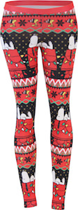Peanuts Snoopy Christmas Leggings
