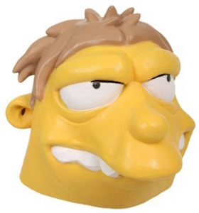The Simpsons Barney Gumble Latex Mask
