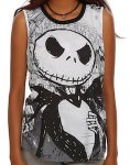 Nightmare Before Christmas Jack And Sally Women's Tank Top